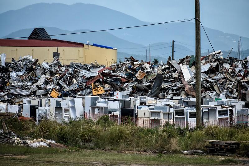 Post-Irma and Maria Debris, St. Thomas