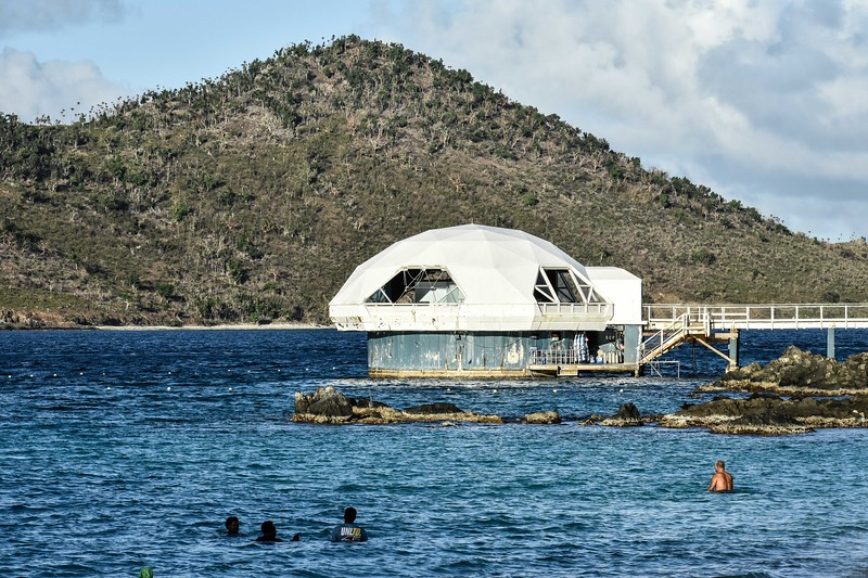 Coral World Underwater Observatory, St. Thomas