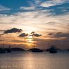 Sunset, Maho Bay, STJ
