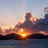 Sunrise on Coral Bay, STJ