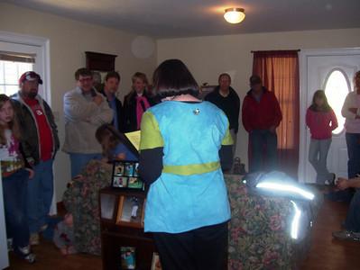 09 02-23 Clayton, Ga. Cunningham house dedication. bb