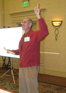 09 01-16 Millard Fuller gives words of welcome and emphasized the importance of sharing and each one learning from the other attendees.  lcf