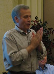 09 01-17  Bartow Tucker, Director of FCH Disaster ReBuilders program, leads Disaster Response workshop.  lcf