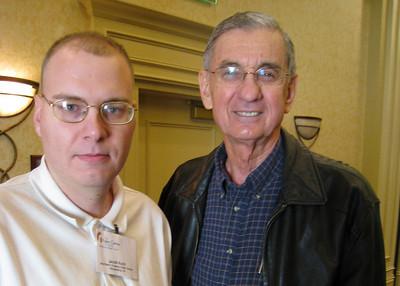 09 01-16 Jacob Koch of Alexandria, VA with Millard Fuller. lcf
