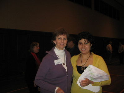 Linda Fuller with Gohar Palyan from Armenia. gp