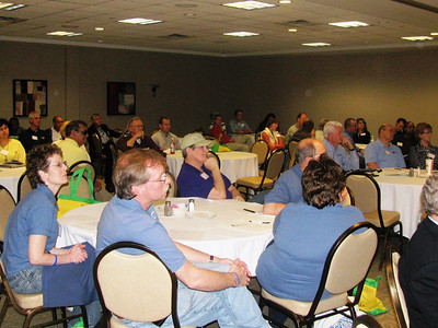 2011 03-18/19  ouisville, KY - Some of the nearly 100 attendees on first day.   Photos courtesy of Brenda Barton