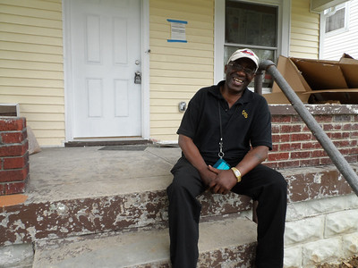 Joe Thomas is an Army veteran who will soon become a homeowner in the Boston Court area of Louisville thanks to the Save a House/Make a Home initiative.
