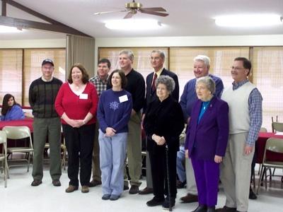08 02 Millard with Smyth Co. FCH board (photo by Bill Baldwin)