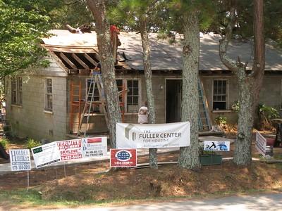 Renovation in progress on Lillie Miller's home  ky