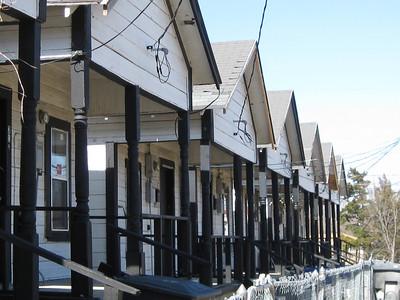 05 12 Row of shacks in Allendale. lf