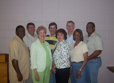 08 07-15 Yalobusha Co., MS - Board members with Glen Barton (back row, first person to the left). gb