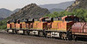 BNSF 7777, 7774, 7725 & 7735, Cajon, California, Mon 29 April 2013 - 0916.