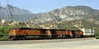 BNSF 4440, 5059 & 5162, Cajon, California, Mon 29 April 2013 - 0948.  The locos are all GE Dash 9-44CWs.  The BNSF train descends Main 2...