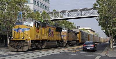 California: Oakland trains, 2013