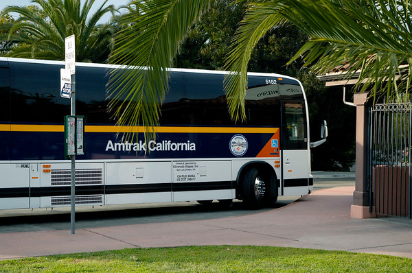 San Luis Obispo, California, 30 September 2006 19.  Amtrak Thruway bus connection.
