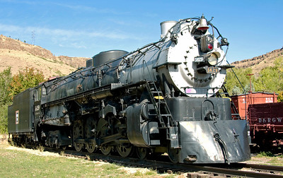 Colorado: Preserved steam, 2008