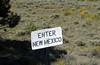 New Mexico state line, Cumbres & Toltec Railroad, Colorado, 5 September 2008 - 1059