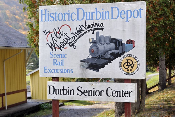 Welcome to the Durbin & Greenbrier Valley Scenic Railroad!  Durbin, West Virginia, Fri 15 October 2010.