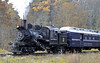 Moore-Keppel No 3, near Durbin, West Virginia, Fri 15 October 2010 1.  Here are five shots of a runpast by the Climax,