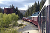 French Gulch, Colorado, 9 September 2008.  Leadville, Colorado & Southern trains stop here for about 15 minutes on the return to Leadville.