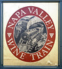 Welcome to the Napa Valley Wine Train!  Napa, California, Sun 23 October 2011.  One of America's best known tourist trains, this luxury service runs up the Napa valley from Napa to St Helena and back.  The ride takes four hours.  Here are 11 shots.