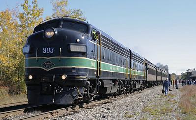Pennsylvania: Steamtown, Scranton, 2010: Diesels