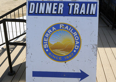 California: Sierra dinner train, 2011