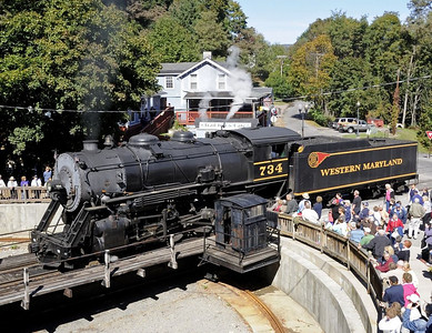 Maryland: Western Maryland Scenic Railroad, 2010