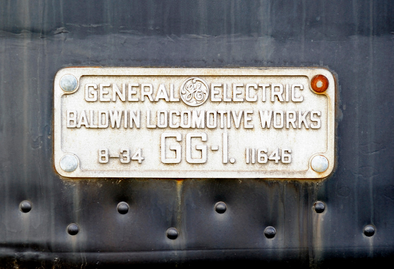 Pennsylvania Railroad No 4800,Railroad Museum of Pennsylvania, Strasburg PA, Wed 6 October 2010