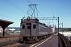 An Erie-Lackawanna four car EMU from Hobolen NJ passes Brick Church station, East Orange NJ, on 10 July 1978.  (Photo by Les Tindall.)