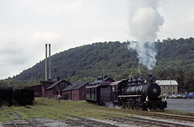 Pennsylvania: East Broad Top Railroad, 1979