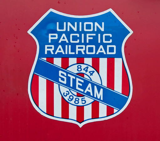 UP steam operations logo, Cheyenne, Wyoming, 12 September 2008
