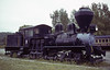 Meadow River Lumber No 1, Steamtown, Bellows Falls, Vermont, August 1979.  Shay logging loco built by Lima (2317 / 1910).  At Steamtown Scranton in 2010.  Photo by Les Tindall.