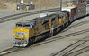 Union Pacific 8730, 4783 & 4820, West Colton yard, California, Sun 28 April 2013 1 - 0814.  8730 is an EMD SD70ACE, the other two are both EMD SD70Ms.