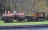 Former Brimstone RR (Tennessee) Shay, Cass, West Virginia, Sat 16 October 2010.  Shay 2366 / 1910.