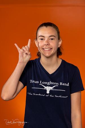 2018 Longhorn Band Freshmen