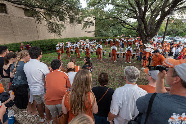 UT/USC game at Texas Memorial Stadium, September 15th, 2018. Photo by Dave Wilson.