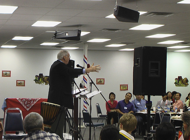 Norm Sonju, founder of Dallas Mavericks and Sidekicks, Guest Speaker