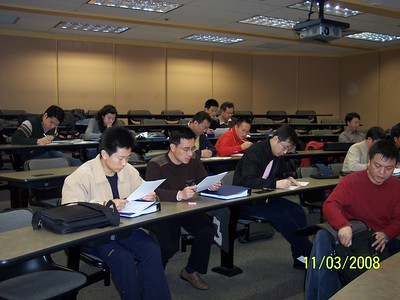 EMBA Students 2008