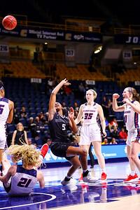 COLLEGE BASKETBALL: FEB 21 Women's Samford at UT-Chattanooga