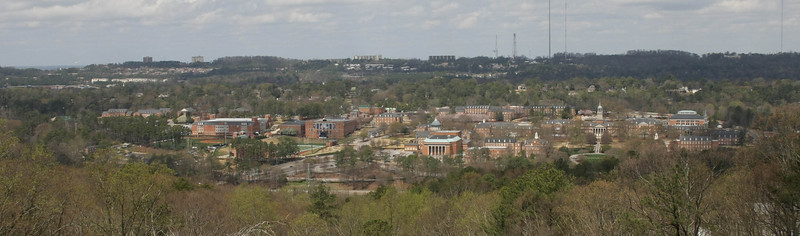 Samford from top of the Mt.