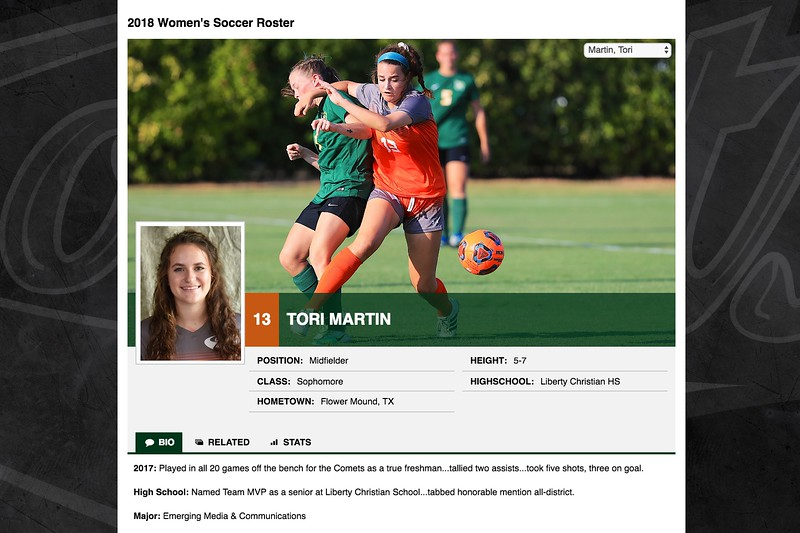 13 Tori Martin