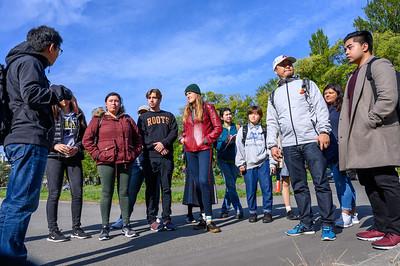 Repatriation talk on campus