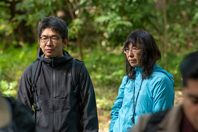Katsunori Takase and Junko Habu