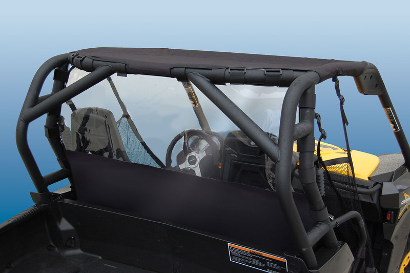 WindStopper Solid Applications<br /> Can-Am Commander - 10-12 #3040<br /> Yamaha Rhino - 04-12 (Shown) #6040<br /> Polaris Ranger - 03-08 Full Size #7040<br /> Polaris RZR - 06-12 #7140<br /> Kawasaki Mule 3000/4000 #8040<br /> Kawasaki Teryx 07-12 #8140<br /> Arctic Cat Prowler 05-10 #9040<br /> <br /> Mesh Brief Top Applications<br /> Can-Am Commander - 10-12 #3000<br /> Yamaha Rhino - 04-12 (Shown) #6000<br /> Polaris Ranger - 03-08 Full Size #7000<br /> Polaris RZR - 06-12 #7100<br /> Kawasaki Mule 3000/4000 #8000<br /> Kawasaki Teryx 07-12 #8100<br /> Arctic Cat Prowler 05-10 #9000