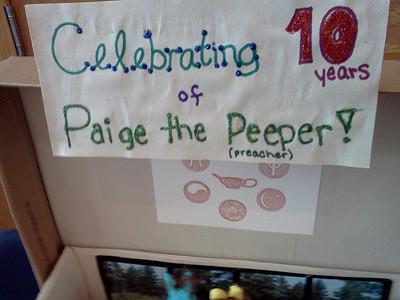 Paige's Peeps Diorama