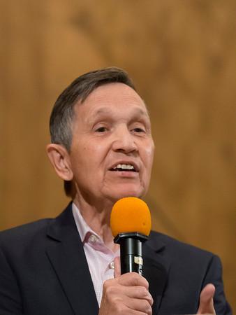 Kucinich Talks at UUCPA 19 Oct 2014