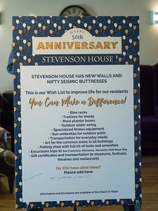 Stevenson House Anniversary