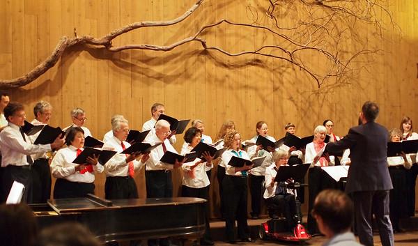 UUCPA Choir XMas Concert 2012