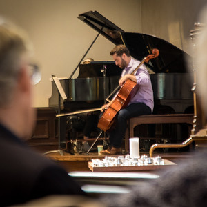 Cellist Brady Anderson